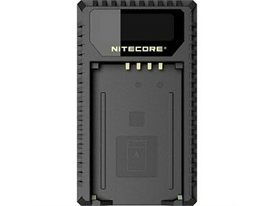 NITECORE ULM240 USB Travel Charger for Leica BP-SCL2 Camera Battery
