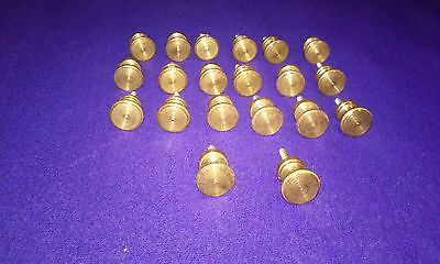 20 pieces vintage cabinet/door  bronze knob