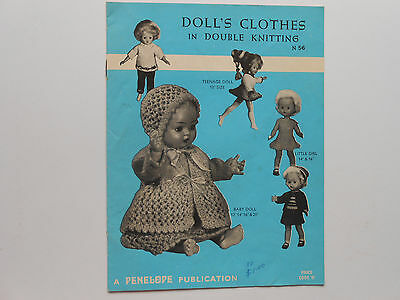 ## Doll's Clothes In Double Patterns #56