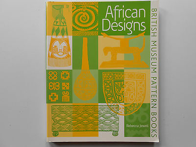 ## African Designs - British Museum Pattern Books - Rebecca Jewell