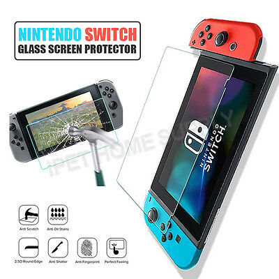 Premium Tempered Glass Screen Protectors Compatible with Nintendo Switch