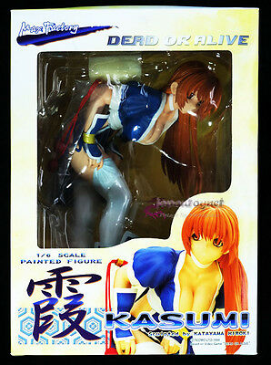 Max Factory DEAD or ALIVE 1/6 scale painted figure KASUMI sexy game girl toy