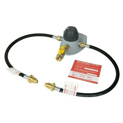 Clesse Automatic High Pressure Changeover Propane Gas Regulator Kit