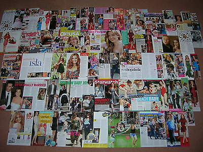 85- ISLA FISHER Magazine Clippings