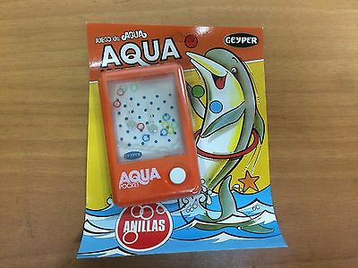 Blister  Juego De Agua Anillas Geyper  New Old Stock