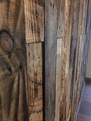 Rustic Cladding Reclaimed Pallet Wood Not Wall Paper