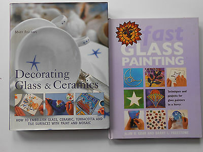 Decorating Glass & Ceramics - Mary Fellows & Fast Glass Painting - Techniques