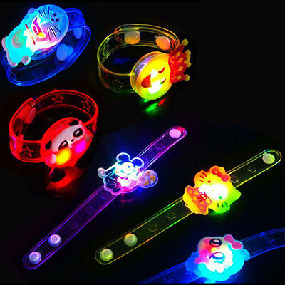 Bracelet LED Night Light Colorful Personality Kids Children Wristband Toy new