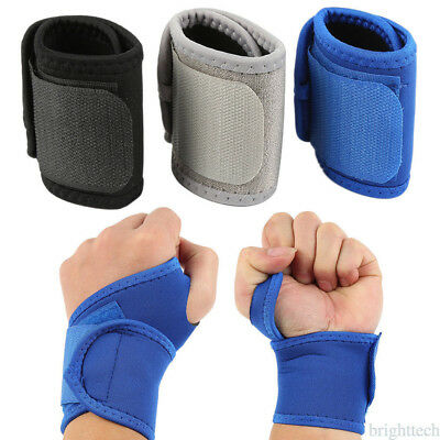 Durable Comfortable Wrist Protect Bracers Elastic Wrap Strength Wrist Guard