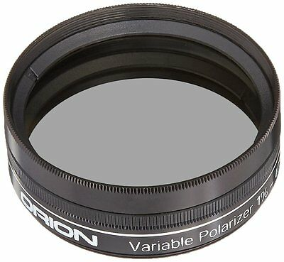 Orion 5562 2-Inch Variable Polarizing Eyepiece Filter Switch Telescope Tone Moon