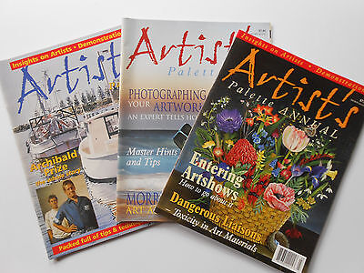 ## ARTIST'S PALETTE MAGAZINE - #6, #18 & ANNUAL - Art PAINTING CRAFT