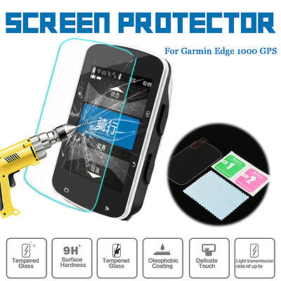 9H Tempered Glass LCD Screen Protector Skin Cover Film For Garmin Edge 1000 GPS