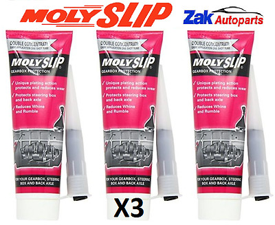 3X Molyslip Gearbox Protection 65Ml Tube Reduces Whine & Rumble New