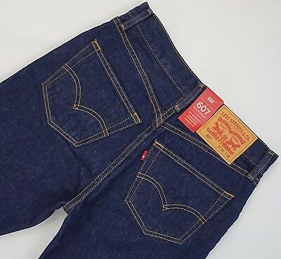 LEVI'S 607 Regular Straight Jeans Men's, Authentic BRAND NEW