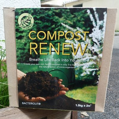 Compost Renew 1.5kg Organic Compost Accelerator for Improved Nutrient Value