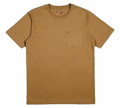 Brixton - Basic Mens Pocket Tee Dusty Olive