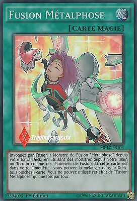 ♦Yu-Gi-Oh!♦ Fusion Métalphose (Metalfoes) : MP17-FR104 -VF/Super Rare-