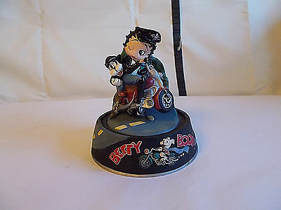 1996 King Hearst Betty Boop LE Born to Be Boop Biker Betty Sculpture Figure