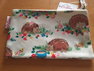 Genuine Cath  Kidston Hedgehog Make Up Bag Pencil Case Purse Bnwt