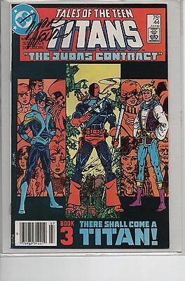 Tales of the Teen Titans #44 - Signed by Marv Wolfman - Key Issue!