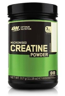 (39,37€/kg) 317g Optimum Nutrition Micronised Creatine Powder ON 88 serving
