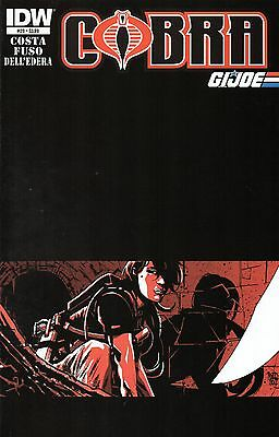 Cobra G.I.Joe Comic 20 IDW 2012 Costa Fuso Dell'Edera