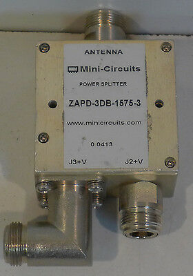 Mini-Circuits ZAPD-3DB-1575-3 GPS Antenna Power Splitter