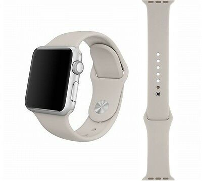 Apple Watch Sport Band 38mm Stone Stainless Steel Pin - MLKW2ZM/A