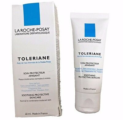 La Roche-Posay Toleriane Soothing Protective Moisturizer Skincare 40 mL