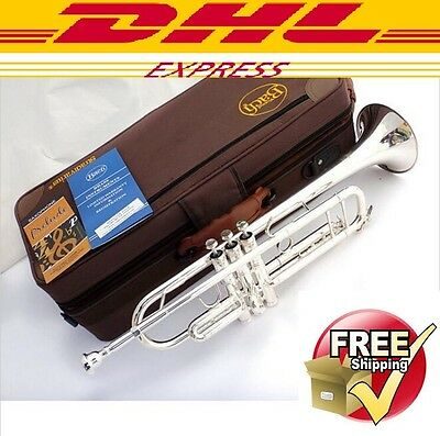 Senior Bach LT-180S-43 Silver Plated Bach Trumpet Small Brass Musical Instrument