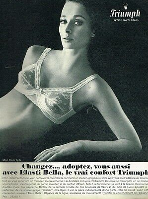 J- PUBLICITÉ ADVERTISING 1965 Lingerie soutien gorge Peter Pan - EUR ... 2d1d3d0a540