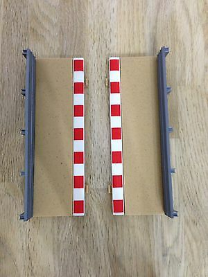 Scalextric C8223  - Borders And Barriers Pair - Half Straight