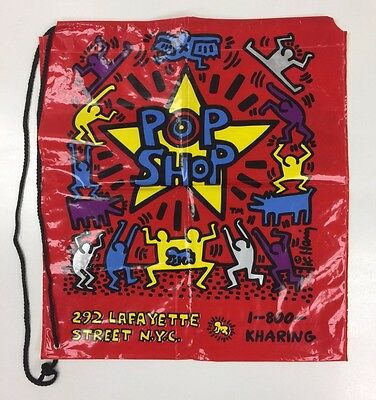 Authentic Keith Haring Pop Shop NYC Shopping Bag