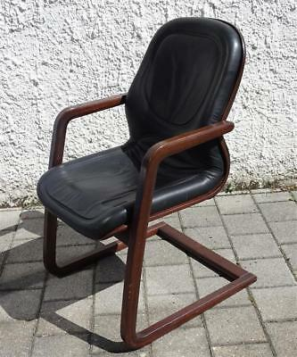 2 ledersessel schwarz design vintage eur 170 00 for Ledersessel schwarz design