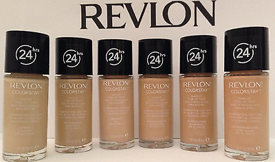 Revlon Foundation Combination/oily Normal/dry 24 Hr Colour Stay Long Lasting