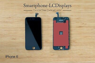 IPhone 6 Original LCD Touchscreen Display Schwarz mit Garantie!!!