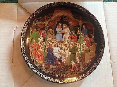 3rd Plate in The Firebird Collection: The Wedding Feast - Bradford Exchange