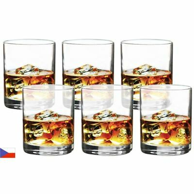 Bohemia by Circle Glass - Soiree Crystalline On the Rocks 255ml Set of 6 (Made i