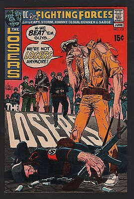 Our Fighting Forces #131 VF+ 8.5 Off White Pages