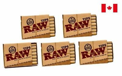 RAW Pre-Rolled Tips - 5 Packs