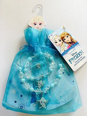 Girl's Frozen Jewellery Set & Organza Gift Bag