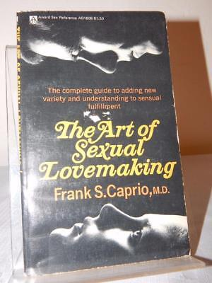 THE ART OF SEXUAL LOVEMAKING Frank S. Caprio Vintage Paperback PB 1976 Sex Guide