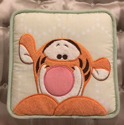 Disney Tigger From Winnie The Pooh Nursery Decor Pillows Wall Hanging