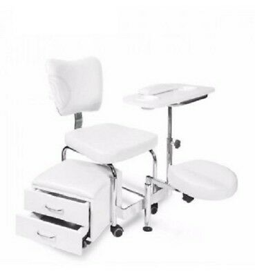Beauty Nails 2 in 1 Manicure Pedicure Chair & Table Station Tidy Salon Set