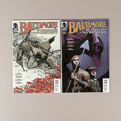 Baltimore Dr. Leskovar's Remedy #1-2 +The Inquisitor, Lot of 3 comics, VF+ set