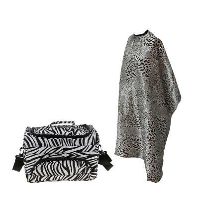 Hair Salon Session Carry Bag for Hairdressing Brush Clip Dryer + Cape Gown