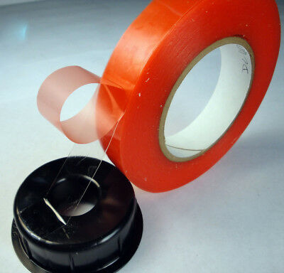Double Coated Polyester 7.6 Mil - Clear (54123)