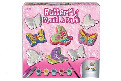 NEW Butterfly Mould and Paint | Kids Craft Set Educational Art Toys | ihartTOYS