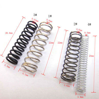 10 Of Packing Small Compression Springs 22-24mm Length x 3.4-6.2mm OD