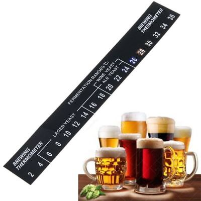 1PC New Digital Stick On Wine Thermometer Home Brew Beer Temperature Measurement